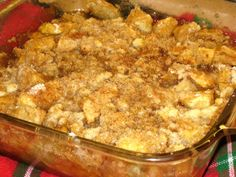 recipe: crustless apple pie with crumb topping [2]