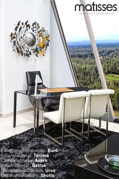 Experiencia Matisses: Una buena decoración en la oficina permite trabajar de una manera más productiva, escoge el mobiliario que la haga confortable y que sea de tu personalidad