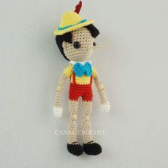 Canal crochet en Youtube ♥️ Crochet Hats, Youtube, Crochet Animal Amigurumi, Pinocchio, Knitting Hats, Youtubers, Youtube Movies