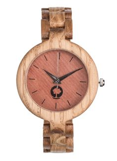 Drewniany zegarek ręcznie wykonany w Polsce. Seria Glamour - koperta i…