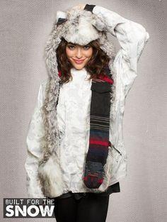Arctic Fox Built for Snow