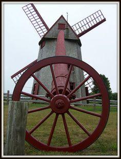 Windmill - Nantucket, Massachusetts by Jewishfan, via Flickr