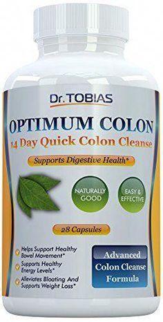 89858ce288 Optimum Colon  14 Days Quick Colon Cleanse to Support Detox