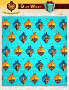 Get ready for the holidays with The Book of Life wrapping paper!