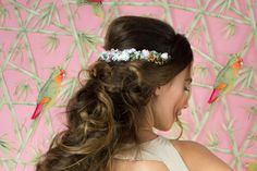 Our hair jewelry named Hair Barrettes, Messy Hairstyles, Hair Jewelry, Your Hair, Tropical, Collection, Fashion, Hair Ornaments, Moda