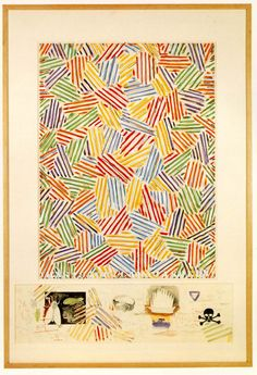Jasper Johns, Cicada (1979)
