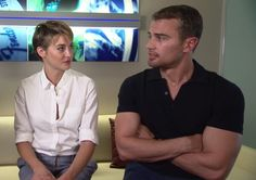Sheo at an interview in Atlanta, giving exclusive details on new Insurgent set!!