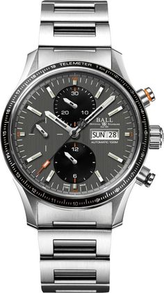d534e723dd7 The Ball Fireman Storm Chaser Pro  A Refined Tritium Chronograph