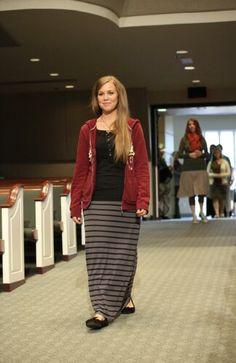 Jana Duggar follow by Jill Dillard Modest Outfits, Modest Fashion, New Fashion, Girl Fashion, Girl Outfits, Casual Outfits, Cute Outfits, Modest Clothing, Jana Marie Duggar