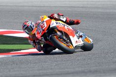 Marc Marquez of Spain rides his Honda during the qualifying practice of the San Marino Moto Grand Prix [GETTY]