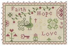 Liberty Primitives and Needlework: March 2010