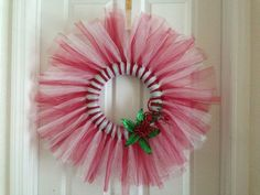 Christmas Wreath Tulle - Bing Images