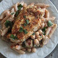 Zatar Spiced Chicken and Pasta Salad