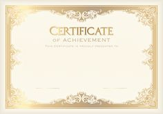 Academic certificate Student Template Poster School, Certificate Template , Certificate of Achievement PNG clipart