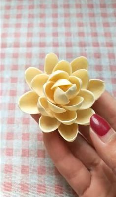 Diy Crafts For Gifts, Craft Stick Crafts, Creative Crafts, Shell Crafts Kids, Paper Flowers Craft, Flower Crafts, Paper Crafts, Pista Shell Crafts, Walnut Shell Crafts