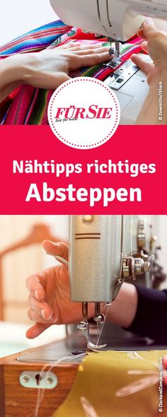 Nähtipps richtiges Absteppen - nähen lernen für Anfänger You are in the right place about Knitting diy Here we offer you the most beautiful pictures about the Knitting toys you are looking for. Beginner Knitting Projects, Easy Sewing Projects, Sewing Projects For Beginners, Knitting For Beginners, Easy Knitting, Sewing Hacks, Sewing Tutorials, Sewing Tips, Tutorial Sewing
