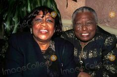 Isabel Sanford with Esther Rolle