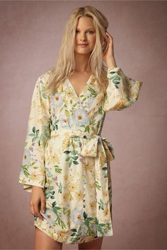 Painted Petal Robe from BHLDN