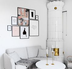 Amazing ideas for walls, great layouts and combinations of photos and quotes