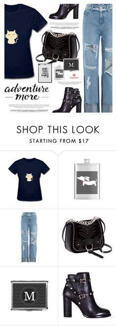 """Snapmade.com"" by defivirda ❤ liked on Polyvore featuring Monday, SJYP, Miu Miu and Valentino"