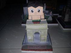 Astroboy at Arc de Triumph