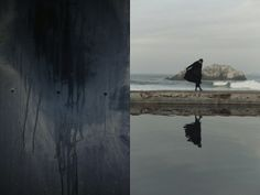 'Monochromatic moods' on Twinterest... [Twincredits: Artwork by Michael Chase + photograph by Eliot Lee Hazel ]
