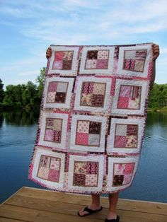 Bailey Girl Five: Sugar and Spice Baby Quilt