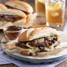 Christy Jordan's Slow-Cooker French Dip Sandwiches are more than just a great family meal. This recipe is a take on family traditions and love.