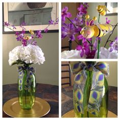 Floral arrangement for baby's room.
