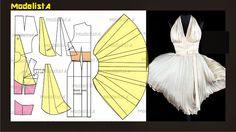 ModelistA: Iconic Dress - Marilyn Monroe's White Dress by William Travilla