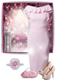 """Tiffany & Co. Pink Diamond Ring"" by diamondcrazy on Polyvore"