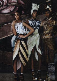 American Vogue - Gangs of New York | Mario Testino