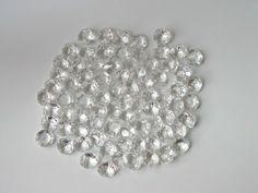100 Stück Kristall Glas Octagons 14mm für Lüster - Dekoration - Basteln: Amazon.de: Küche & Haushalt