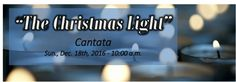"North Scottsdale UMC Chancel Choir will present ""The Christmas Light"" with full orchestra and narrated by Senior Pastor Nancy Cushman on Sunday, December 18, 2016 at 10:00 a.m. in the 600 seat sanctuary.   From the hopeful darkness of early Advent to the heavenly radiance of the birth of Christ, ""The Christmas Light"" masterfully conveys the wonder of God's promise fulfilled. Subtitled A Masterwork Cantata For Advent Or Christmas, this is a superb cantata of great quality."