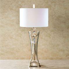 Contempo Edge Champagne Gold Table Lamp