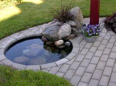 Bildresultat för liten damm trädgård