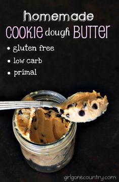 Homemade Cookie Dough Butter