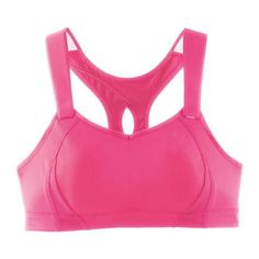 The Light Pink Gym sports Bra has been designed for hard core athletes who need maximum support and performance.