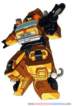 Grapple: I believe that Grapple and the Constructicons could have made beautiful structures together.