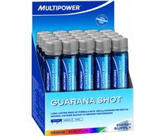 Prezzi e Sconti: #Multipower guarana shot 20 x 25ml  ad Euro 18.75 in #Multipower #Sportoutdoor integratori