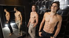 Jordan and Zac Stenmark: For a couple of blokes with plenty to do, they don't seem to hav