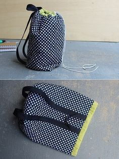 It is simple to sew a nice backpack!