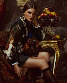 - Ornate Expectations - One of the fall season's biggest trends, baroque style, gets spotlighted in this stunning editorial photographed by Andrew Yee (Atelier Management) for the latest issue of How to Spend It Magazine. Baroque Fashion, Victorian Fashion, Modern Victorian, Royal Fashion, Marie Antoinette, Sophie Turner, Brittany Burke, Cate Blanchett, Mode Baroque