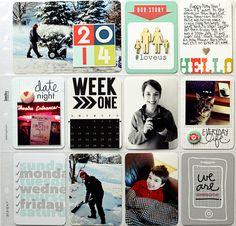 Project Life Week 1 (2014) - Scrapbook.com