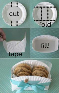 Cute way to hold cookies