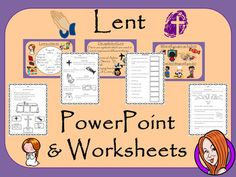 Lent and Ash Wednesday  -  PowerPoint and Worksheets This download includes a detailed 49 slide PowerPoint explaining all about Lent and Ash Wednesday. It covers the important parts of Lent; what it means; when it is; the story of Jesus in the desert; The things people do at Lent; the importance of purple at Lent; the symbols of Lent and giving up things for Lent.This download includes:- Complete 49 slide PowerPoint - Three versions of a the 6 page differentiated worksheets - Answer…