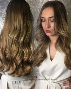 Weave by DDB using beauty works hair. Available at diamond dolls beauty, Derby