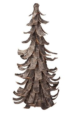 "Foreside Birch Bark Tree Decoration available at #Nordstrom Add rustic je ne sais quoi to your Christmas décor with a beautiful tree crafted from birch-bark strips. •17 1/2"" height. •Birch bark. •By Foreside; imported."
