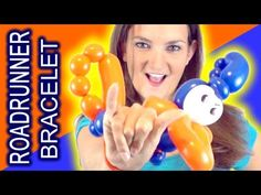 How to make a quick and cute balloon Roadrunner Bracelet out of balloons!