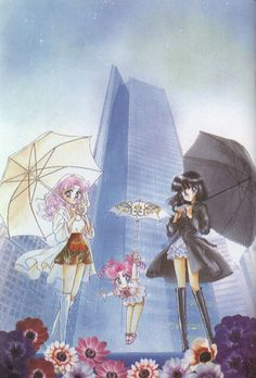 100% Manga - Sailor Moon Manga Art Books Image Collection. I've always loved this picture.
